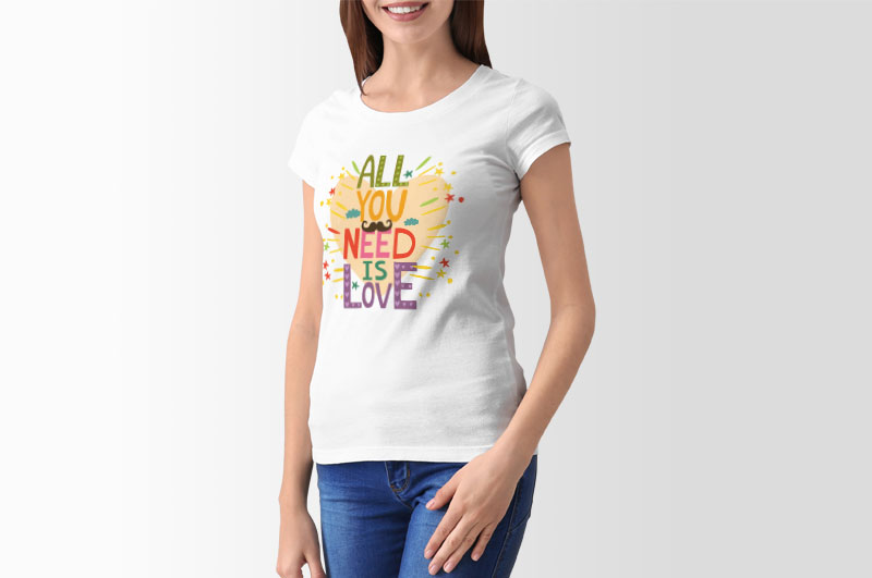 women-tshirt-all-you-need-is-love