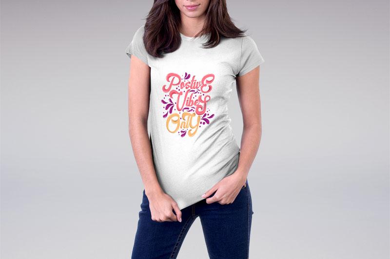 women-tshirt-postive-vibes-only