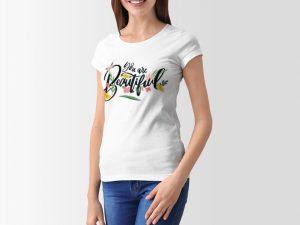 women-tshirt-you-are-beautiful