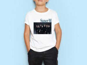 kids-tshirt-kpop-band-super-m