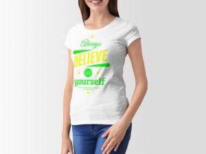 women-tshirt-believe